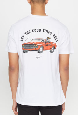 T-Shirt Imprimé Let the Good Times Roll Arsenic Homme