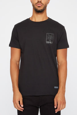 Zoo York Mens Reflective Camo T-Shirt