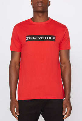 T-Shirt Logo Zoo York Homme