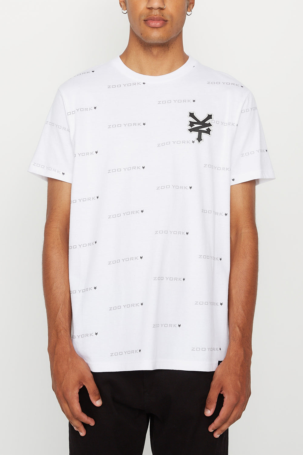 Zoo York Mens Logo T-Shirt White
