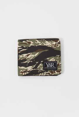 Young & Reckless Tiger Camo Fold Wallet