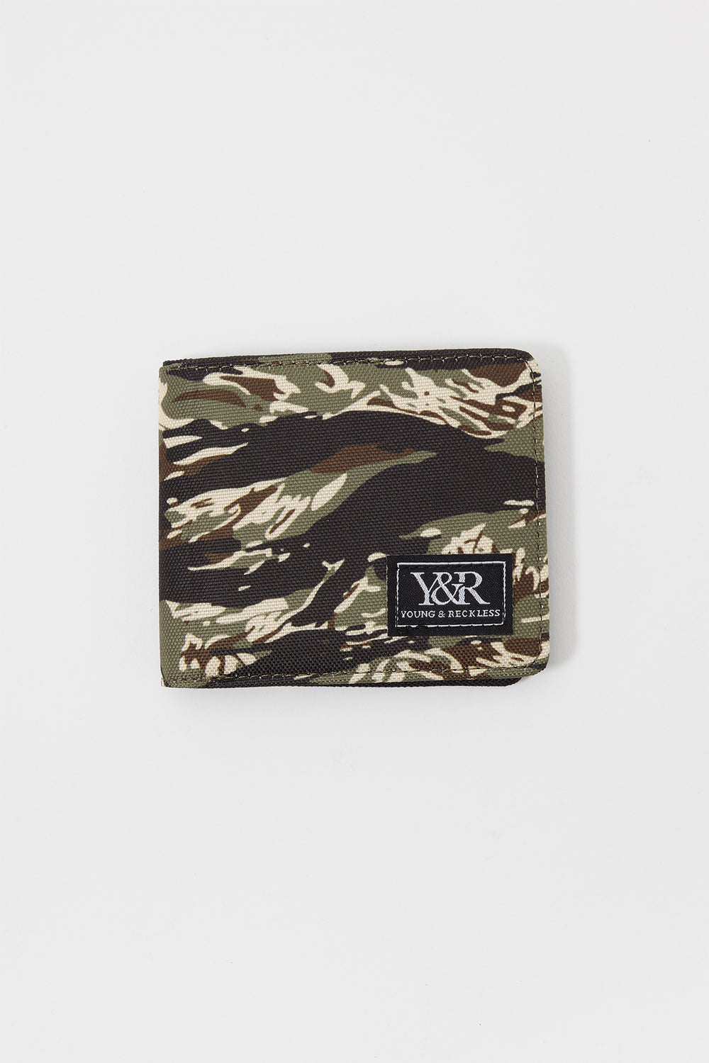 Young & Reckless Tiger Camo Fold Wallet Camouflage