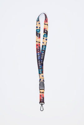 Zoo York Rainbow Camo Lanyard