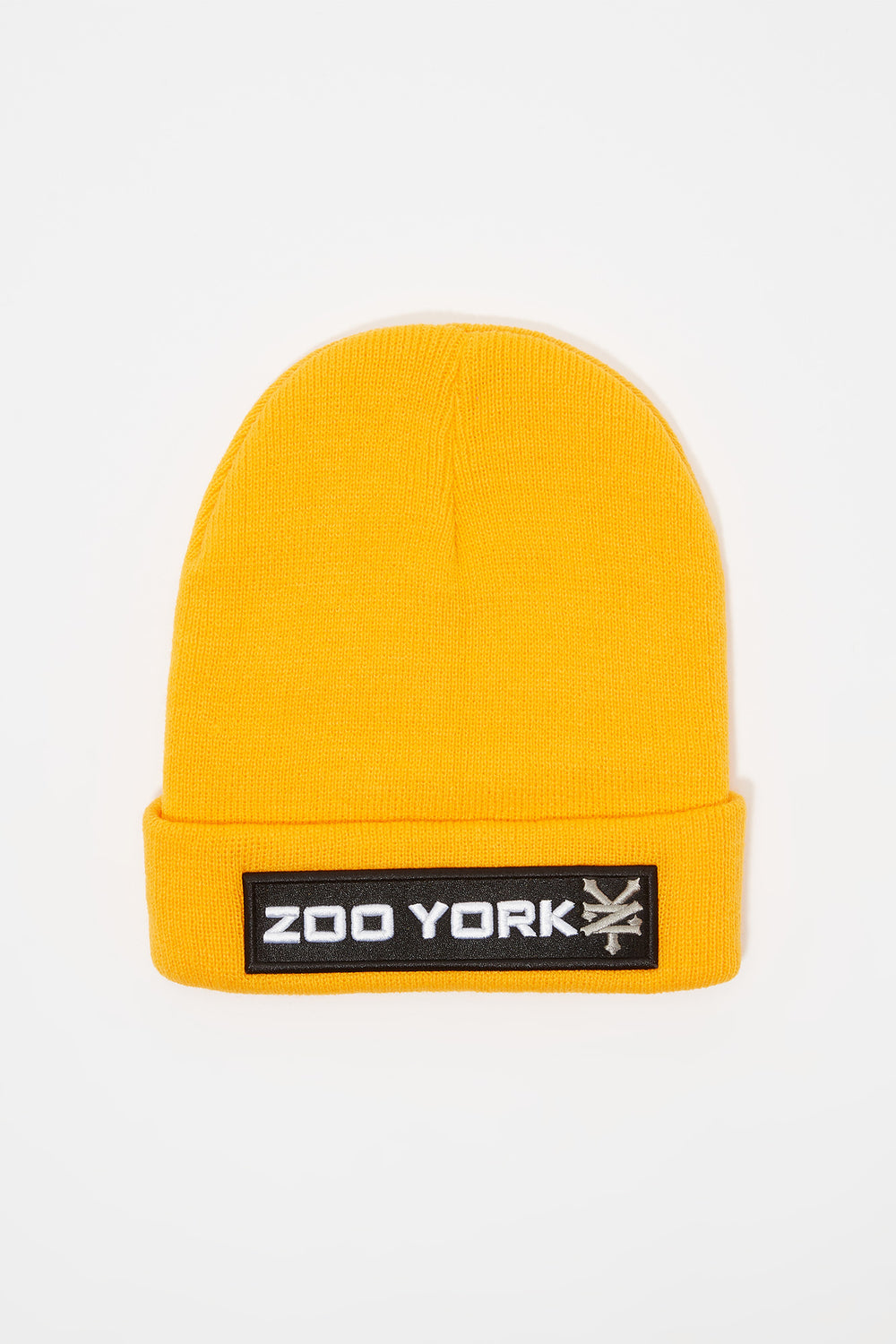 Tuque Logo Patch Zoo York Homme Gold