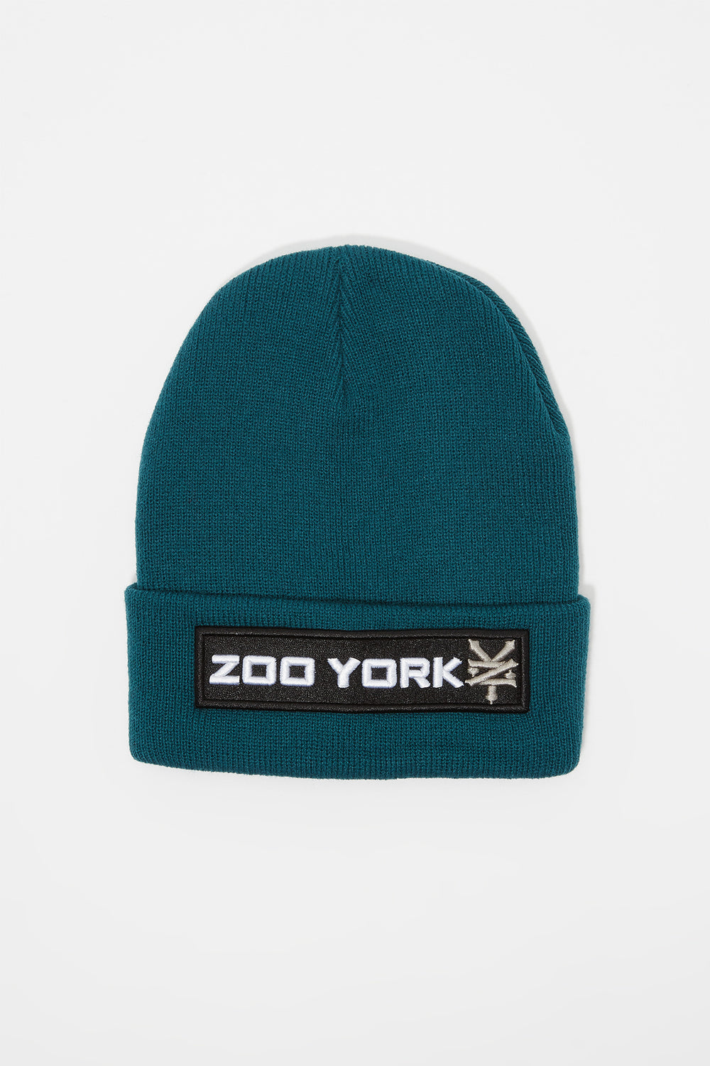 Tuque Logo Patch Zoo York Homme Sarcelle