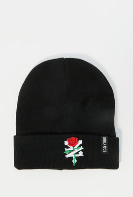 Zoo York Mens Rose Logo Beanie