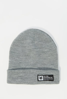 Zoo York Mens Label Logo Beanie