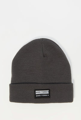 Zoo York Mens Patch Logo Beanie
