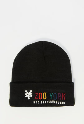 Tuque Logo Multicolore Brodé Zoo York Homme