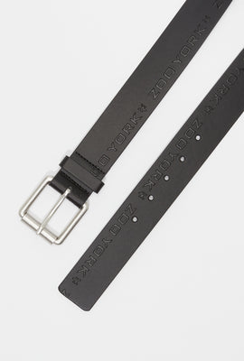 Zoo York Mens Faux-Leather Belt