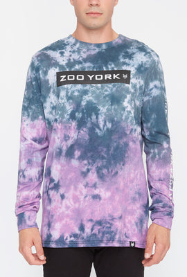 Zoo York Mens Tie Dye Box Long Sleeve