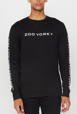 Zoo York Mens Box Logo Long Sleeve
