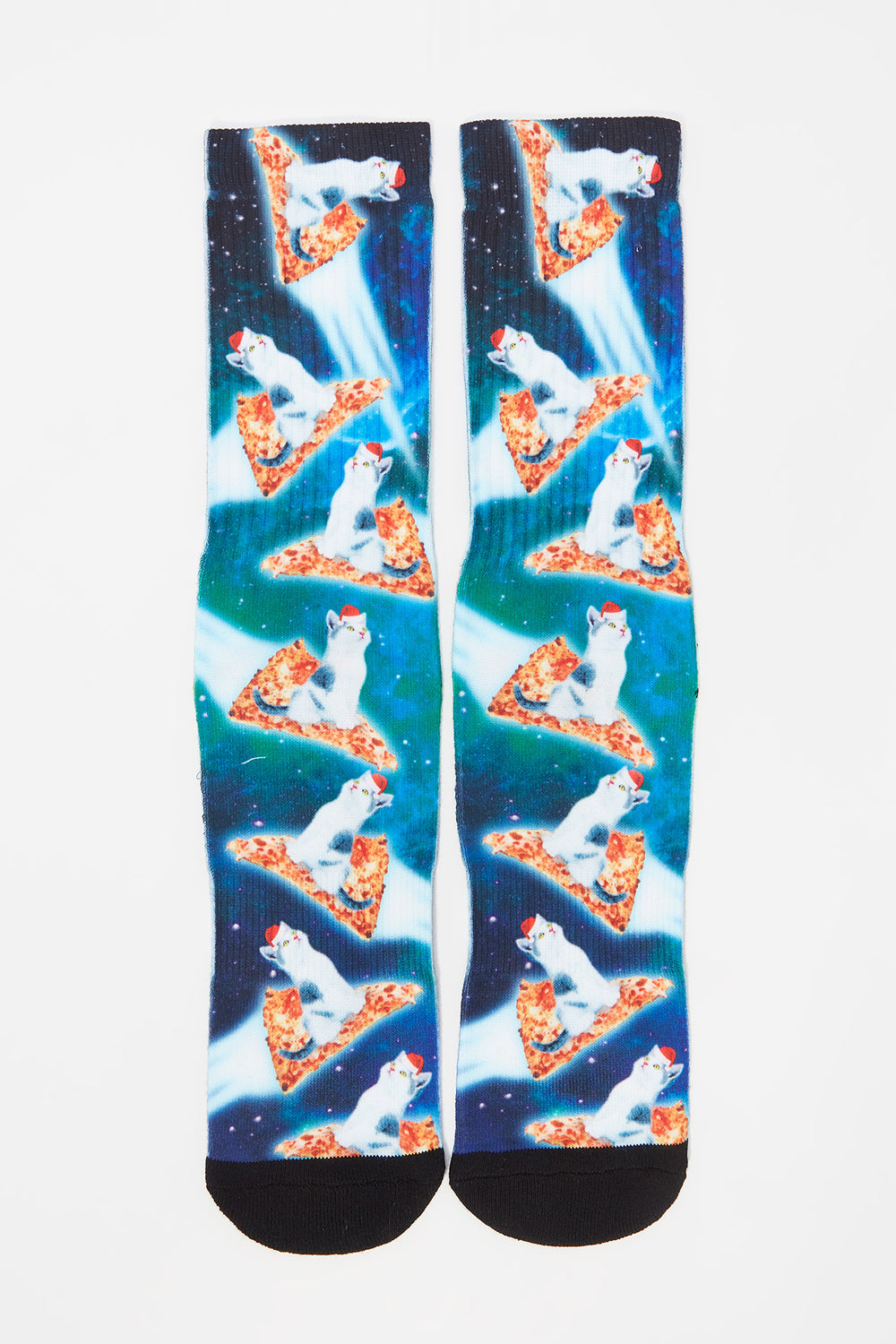 Chaussettes Chat Pizza Zoo York Homme Sarcelle