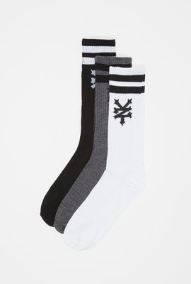 Zoo York Mens Crew Socks (3-pack)