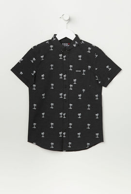 Zoo York Youth Ditsy Print Button-Up