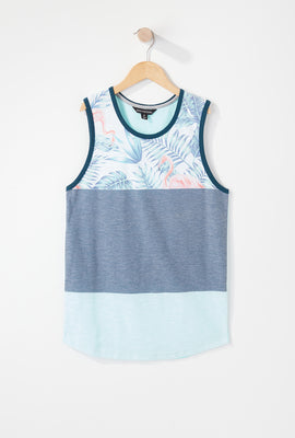 Boys Flamingo Tank Top