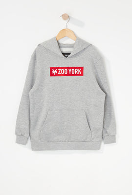 Zoo York Boys Classic Patch Logo Hoodie