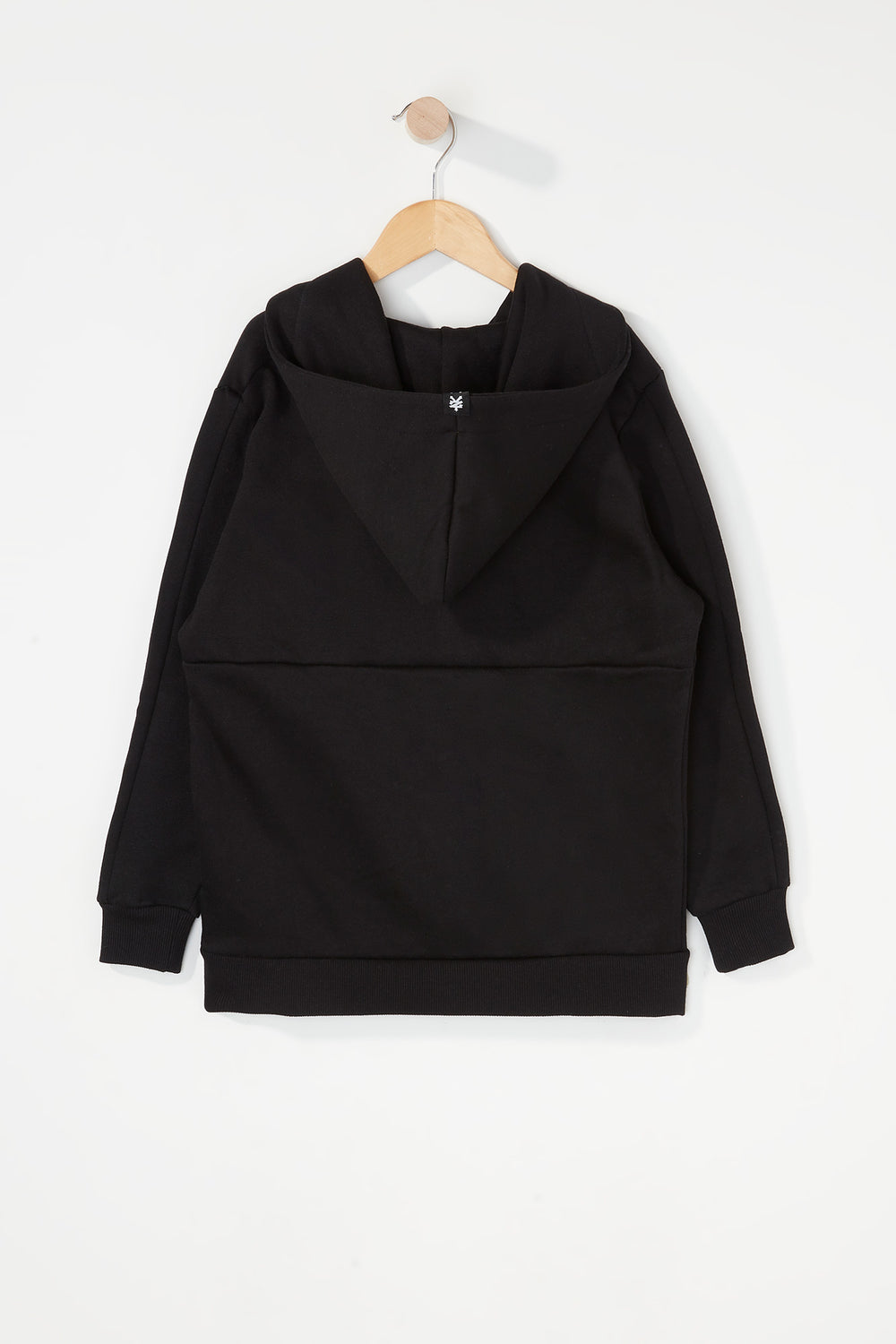 Zoo York Boys Embroidered Logo Hoodie Black