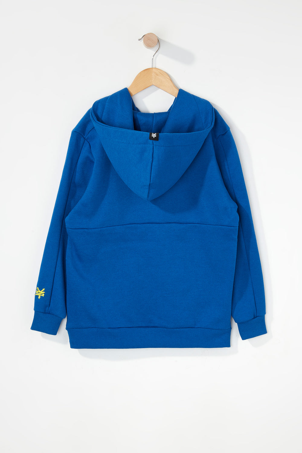 Zoo York Boys Embroidered Logo Hoodie Blue