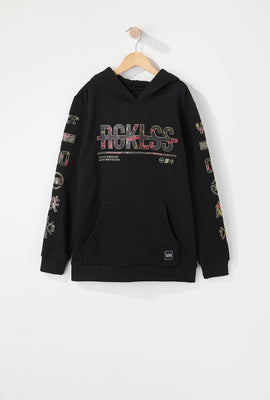Young & Reckless Boys Neon Floral Hoodie