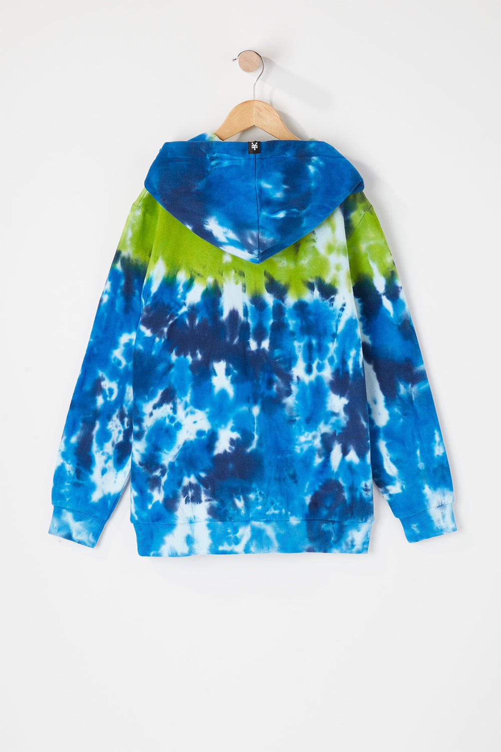 Zoo York Youth Tie-Dye Hoodie Dark Blue