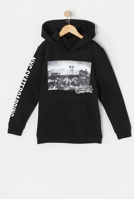 Zoo York Youth Photo Print Hoodie