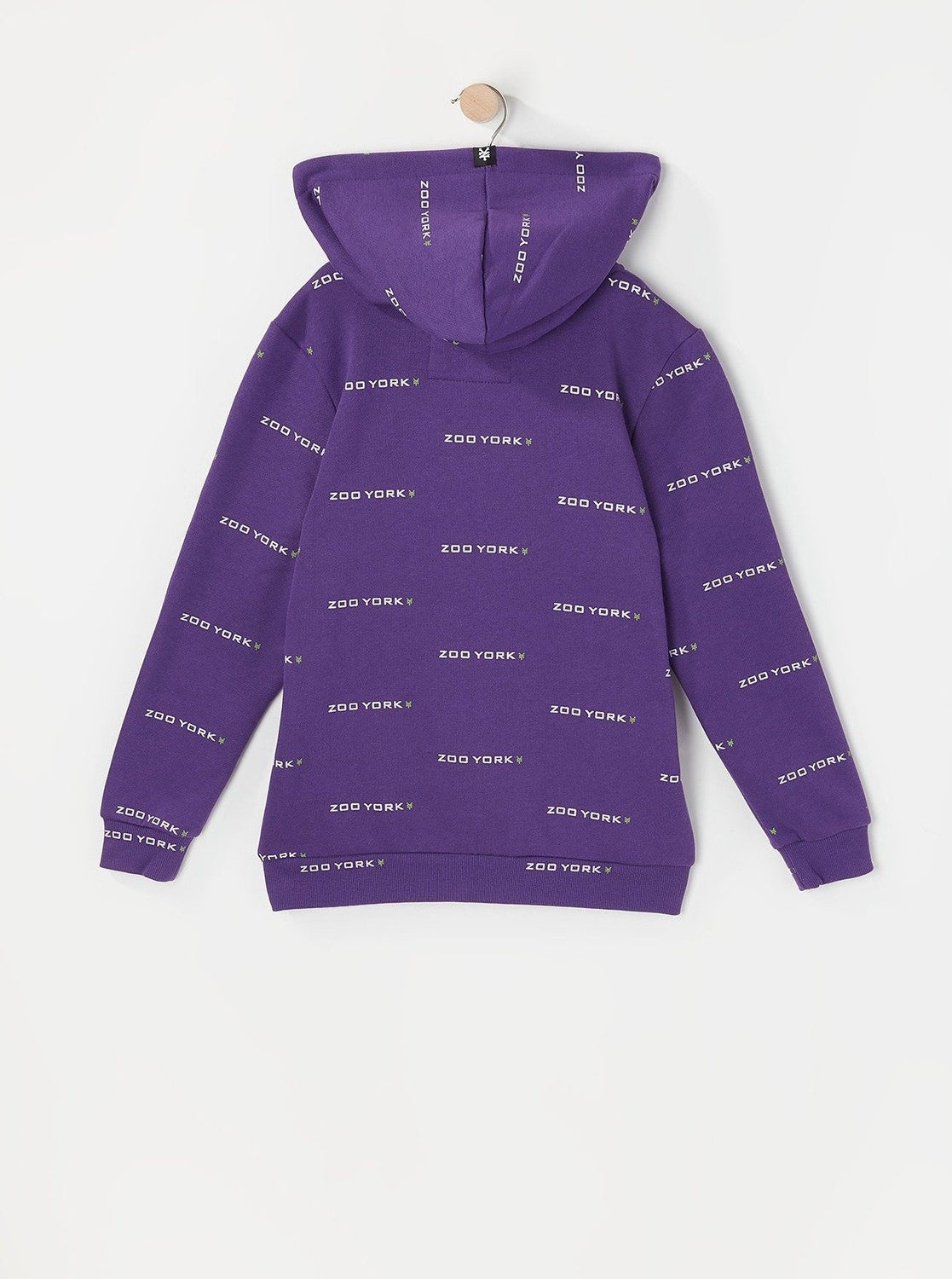 Zoo York Youth Chenille Patch Hoodie Purple