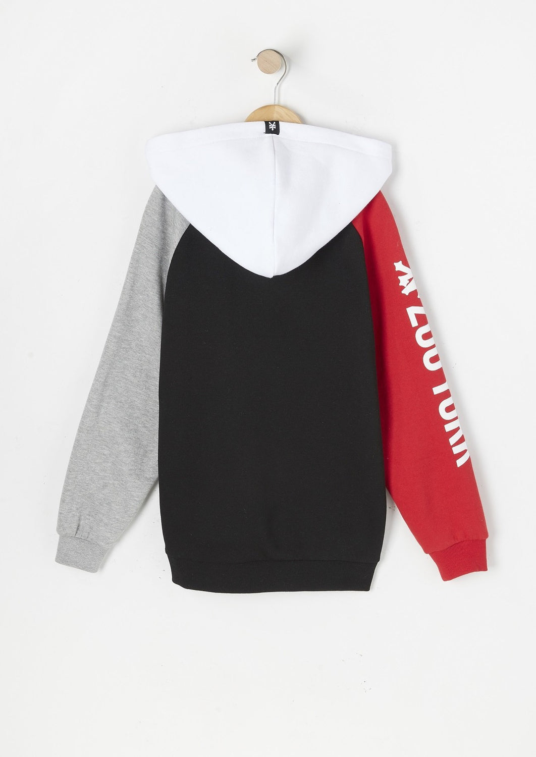 Zoo York Youth Colour Block Hoodie Black
