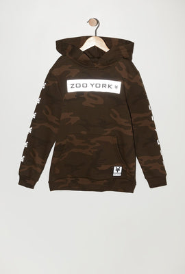 Zoo York Youth Camo Popover Hoodie