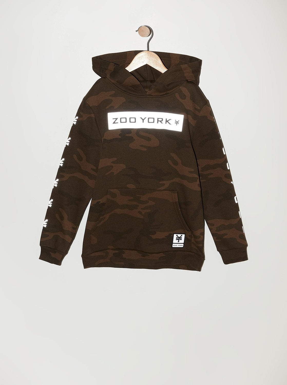 Zoo York Youth Camo Popover Hoodie Camouflage