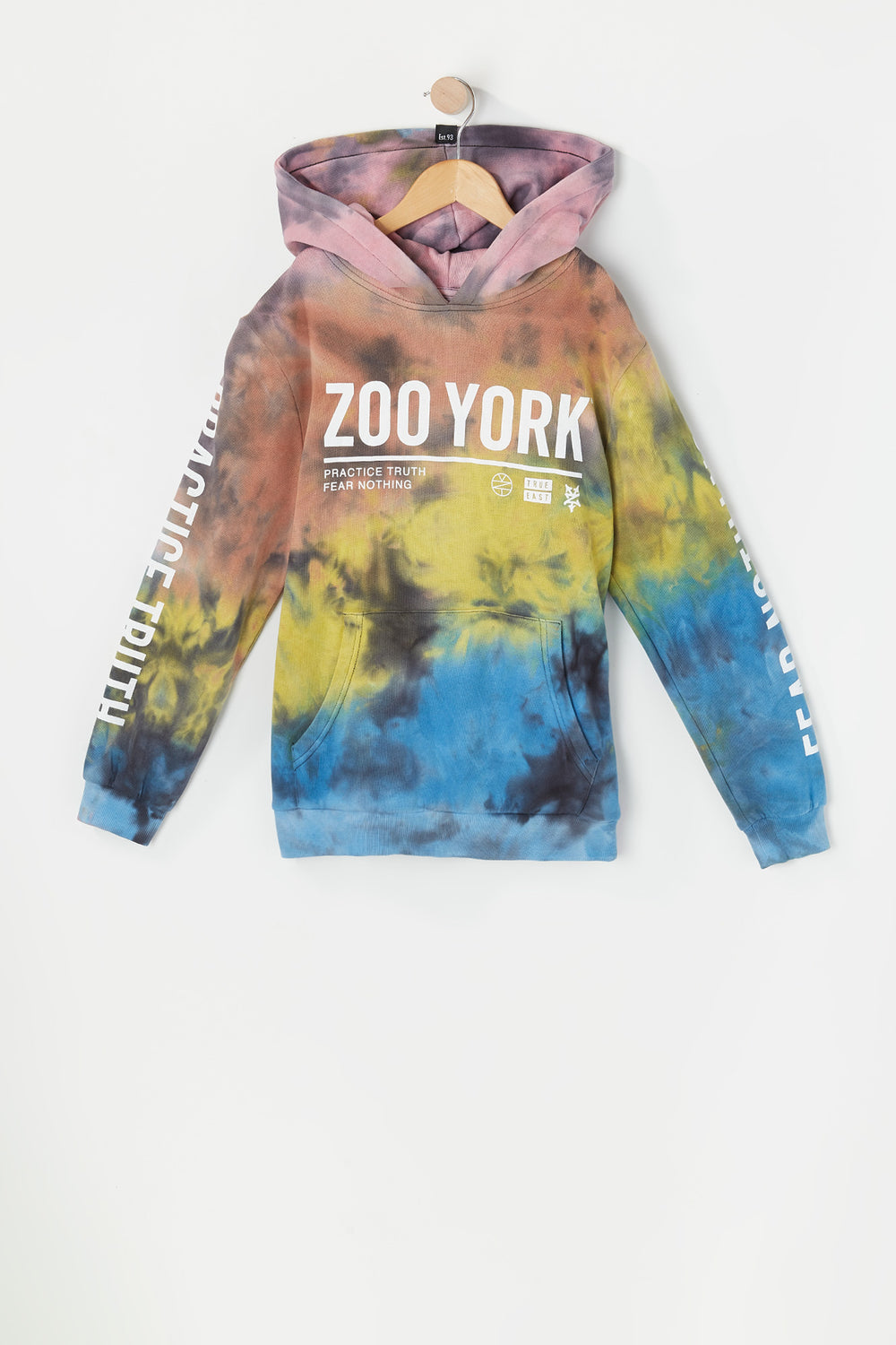 Haut À Capuchon Tie-Dye Fear Nothing Zoo York Junior Multi
