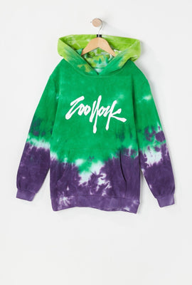 Zoo York Youth Tie-Dye 5 Boroughs Hoodie