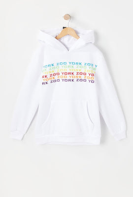 Zoo York Youth Rainbow Logo Hoodie