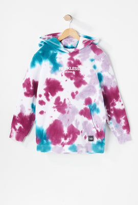 Young & Reckless Youth Purple Tie-Dye Hoodie