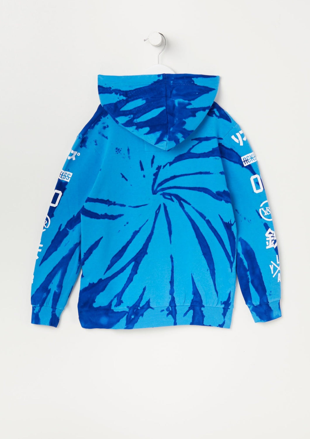 Young & Reckless Youth Tie-Dye Hoodie Blue