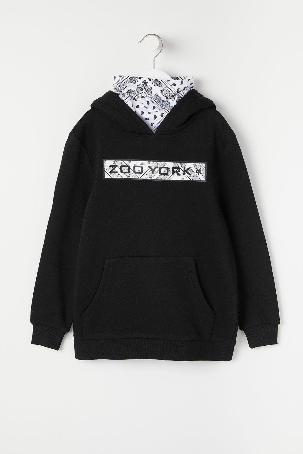 Snoodie Bandana Logo Zoo York Junior Noir