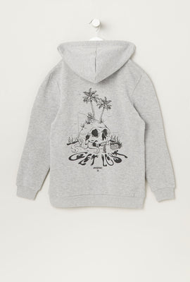Arsenic Youth Graphic Print Hoodie