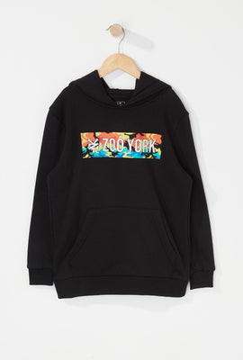 Zoo York Boys Rainbow Camo Box Logo Hoodie