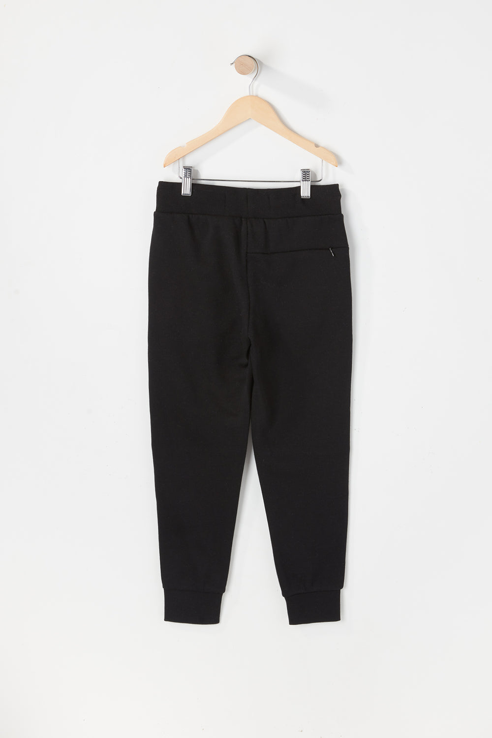 West49 Youth Solid Moto Jogger Black