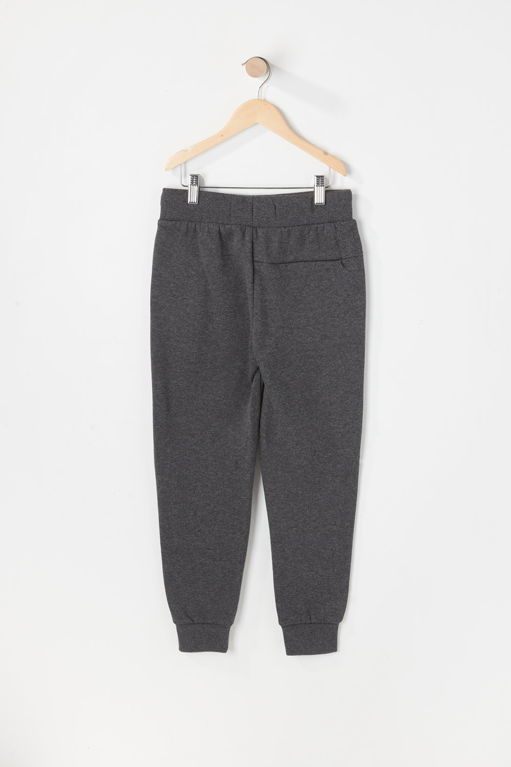 West49 Youth Solid Moto Jogger Charcoal