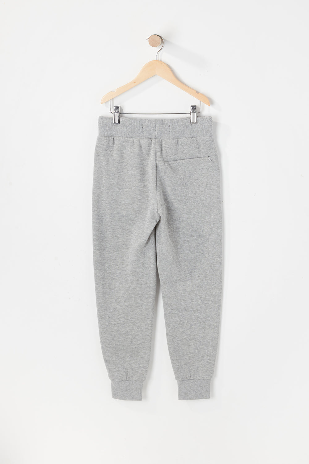 West49 Youth Solid Moto Jogger Heather Grey