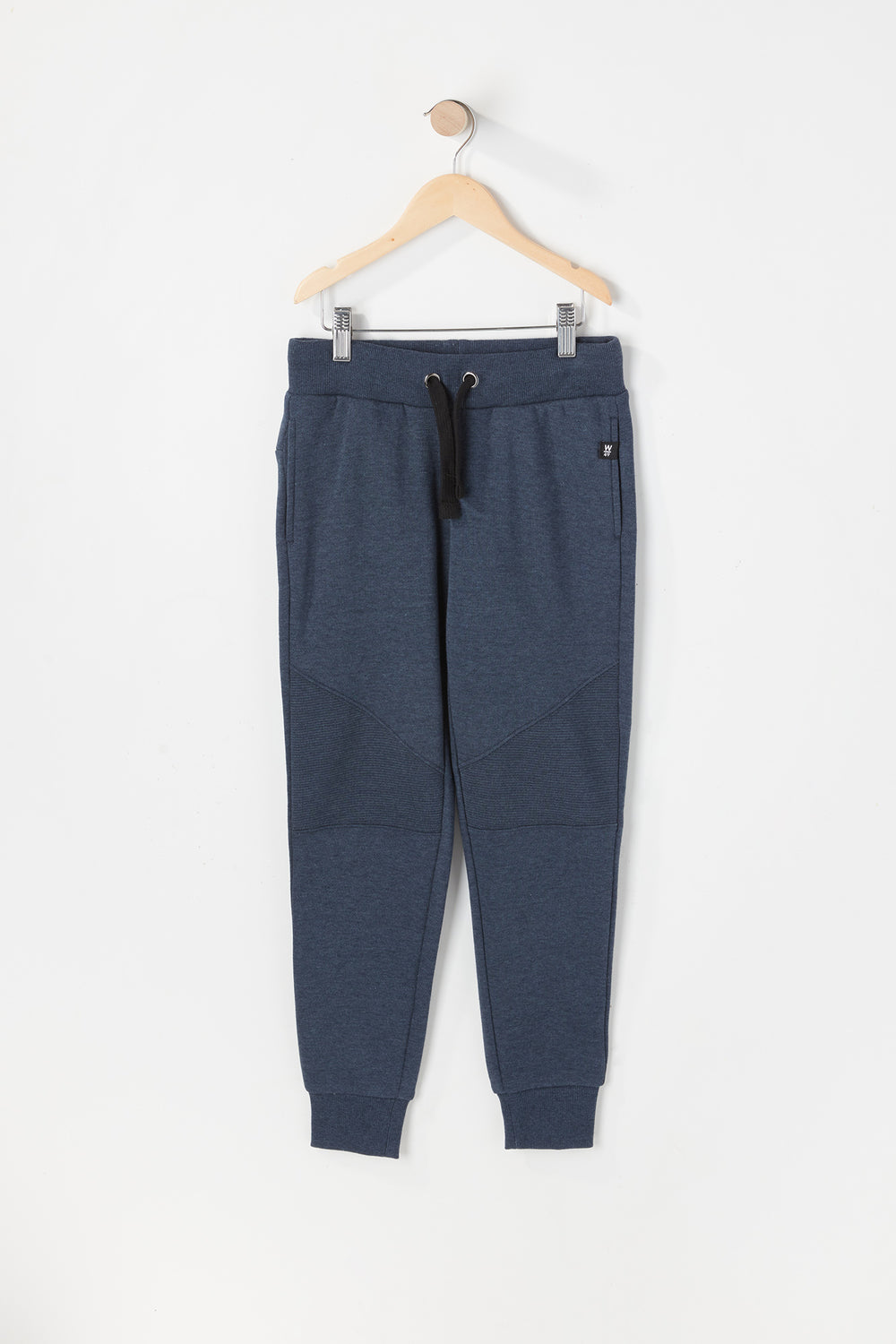 West49 Youth Solid Moto Jogger Denim Blue