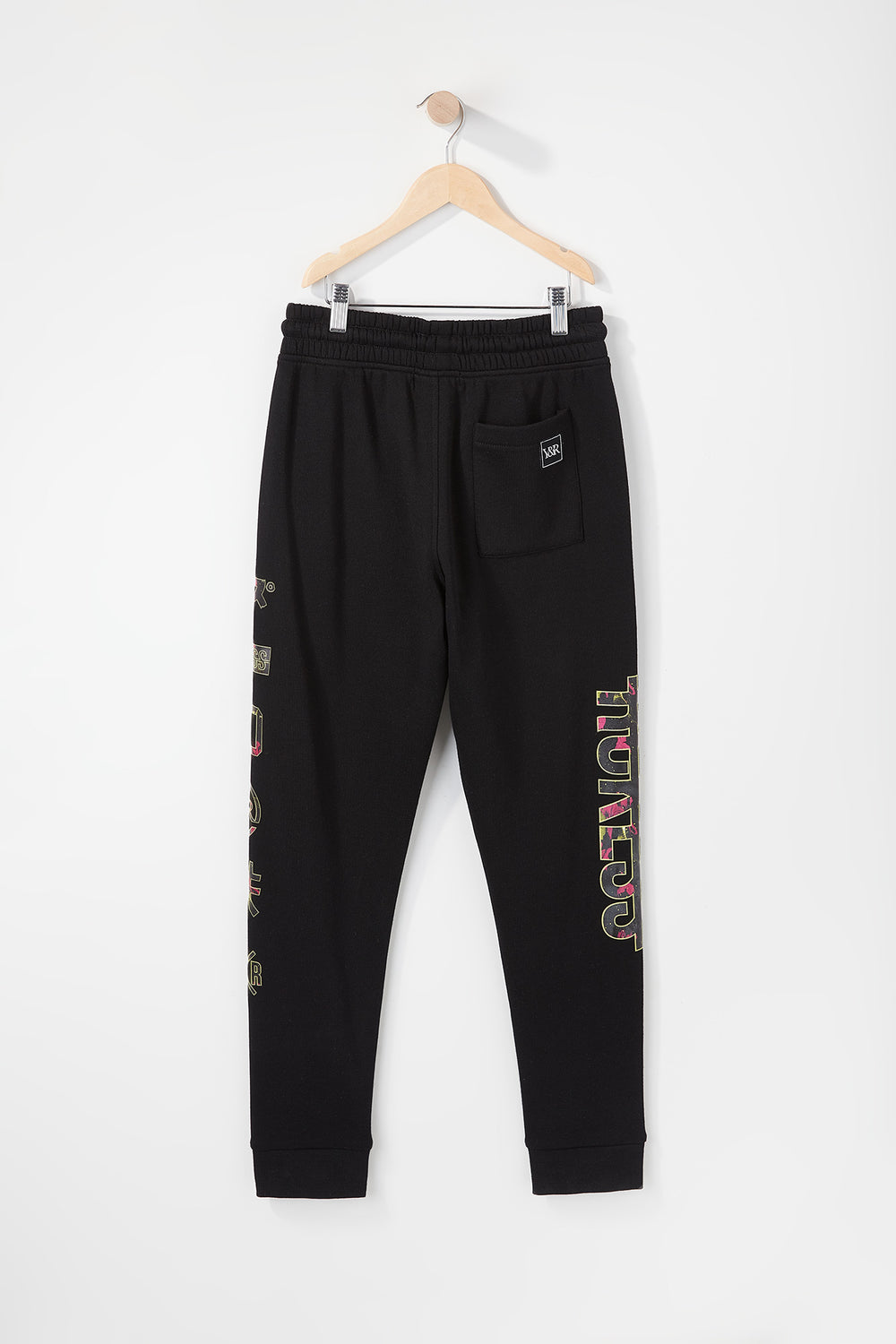 Young & Reckless Boys Neon Floral Jogger Black