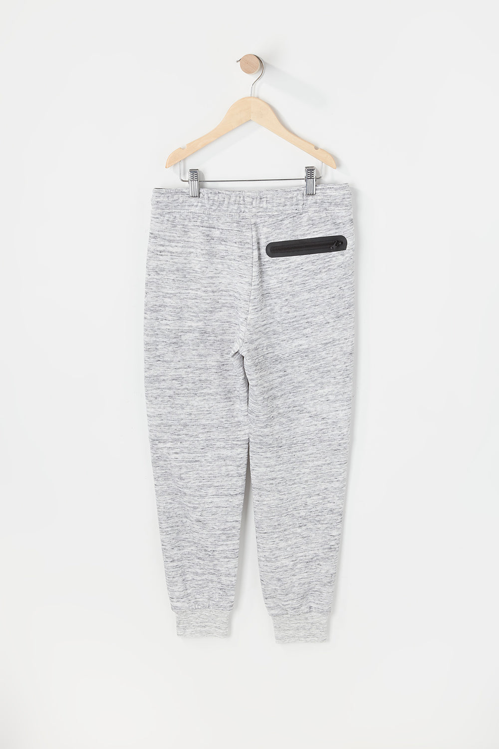 West49 Youth Spacedye Jogger Heather Grey