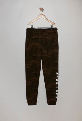 Zoo York Youth Camo Reflective Logo Jogger