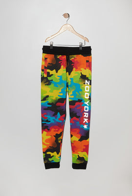 Zoo York Youth Rainbow Camo Reflective Jogger