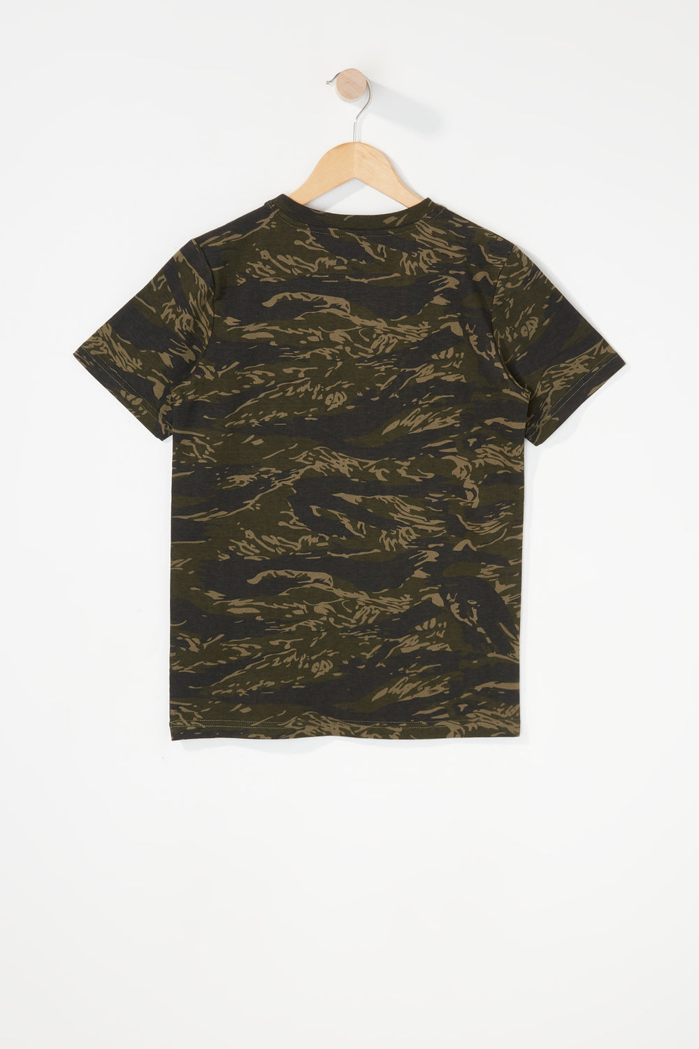 T-Shirt Camouflage Young & Reckless Garçon Camoufle