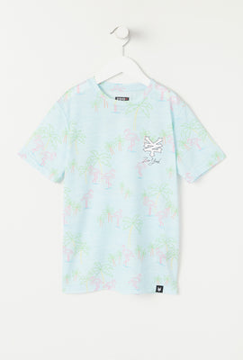 Zoo York Youth Neon Flamingo T-Shirt