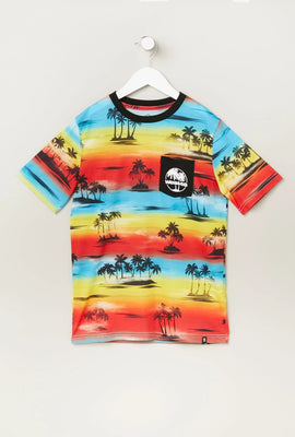 T-Shirt Couché de Soleil West49 Junior