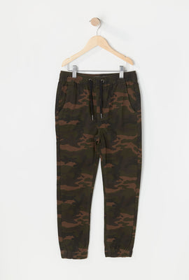 West49 Youth Twill Camo Jogger